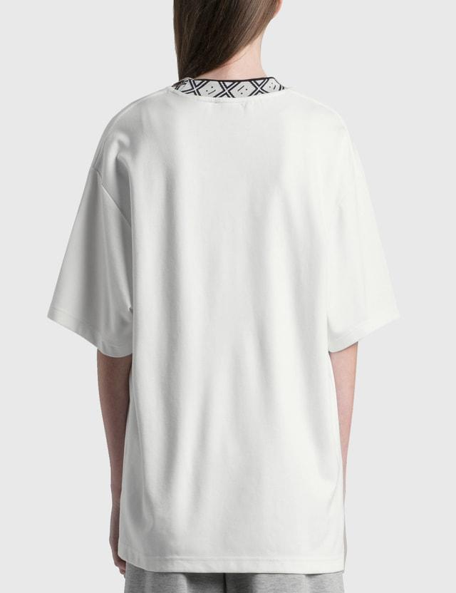 Acne Studios Eternal Rib Face T-shirt Optic White Women