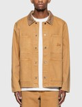 Stussy Heavy Wash Chore Jacket Picutre