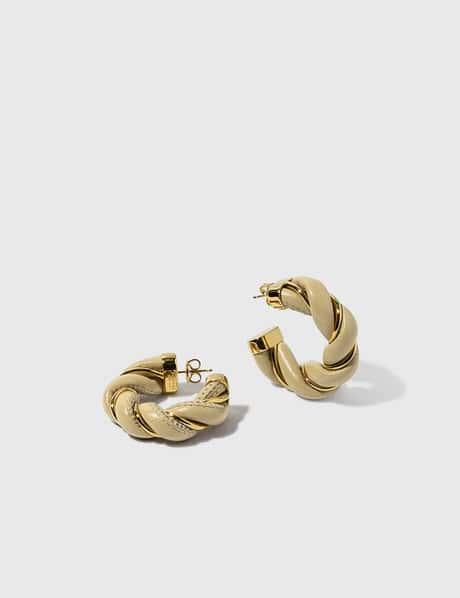 보테가 베네타 Bottega Veneta Twist Earrings