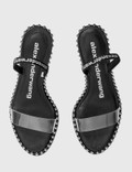 Alexander Wang Nova Low Heel Sandal Black Women
