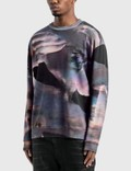 Marcelo Burlon All Over Lilium Sweatshirt Violet Men