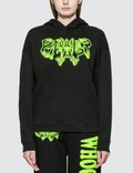 Ashley Williams Power Nap Pocket Hoodie Black/yellow Women