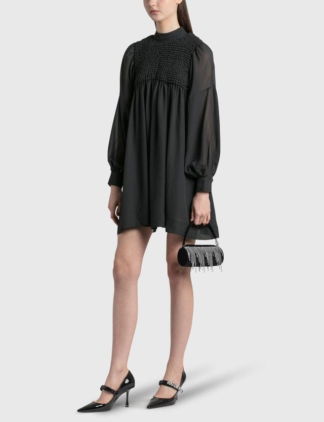 Les Petits Joueurs Bon Bon Diva Mini Bag Black Velet Women
