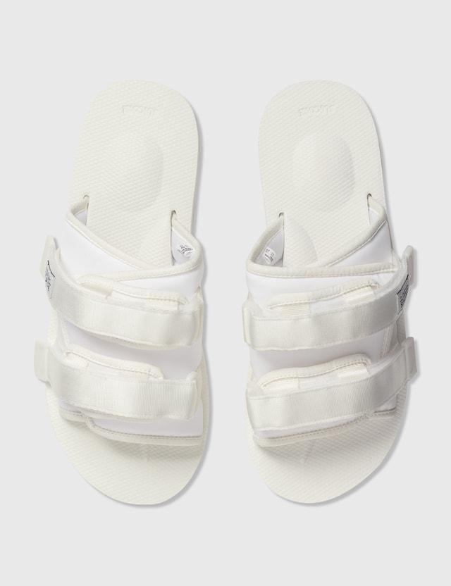 Suicoke MOTO-Cab Sandals White Men
