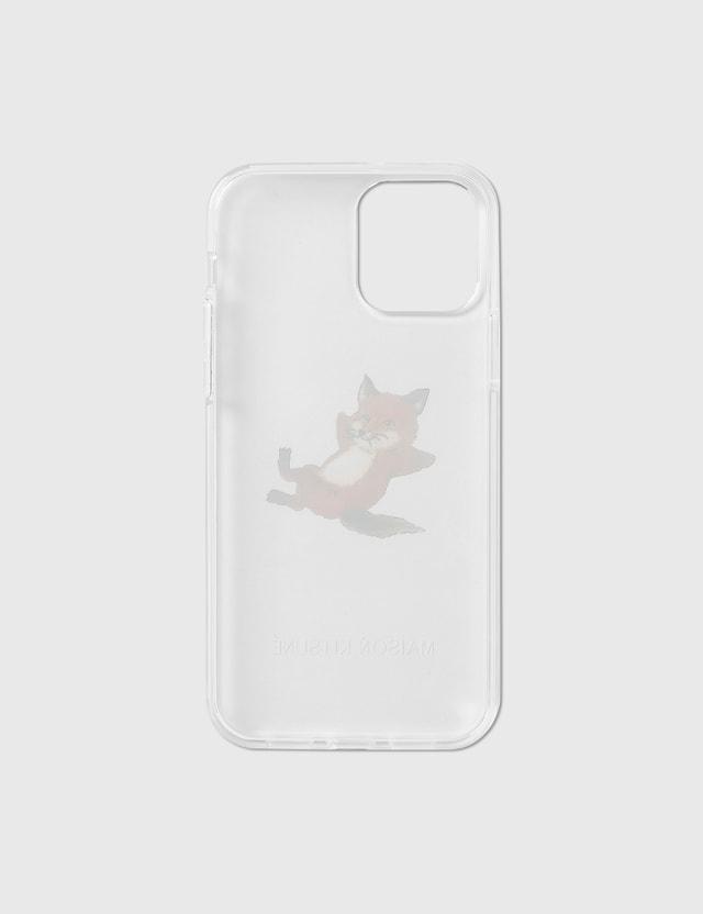 Maison Kitsune Native Union X Maison Kitsune Chillax Fox Transparent iPhone 12/ 12 Pro Case