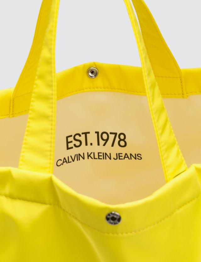 CALVIN KLEIN JEANS EST.1978 Logo Tote Bag