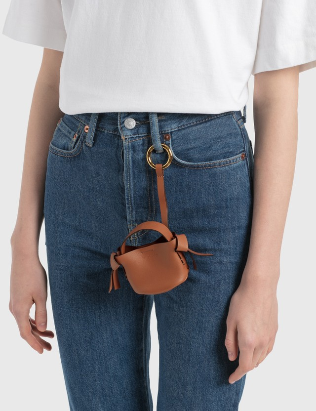 Acne Studios Musubi Keychain Almond Brown Women