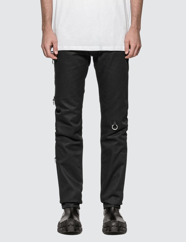 Raf Simons Slim Fit Jeans With Rings