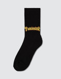Thrasher Ankle Flame Socks Picture