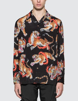 Wacko Maria Tim Lehi Long Sleeve Hawaiian Shirt (Type-1)