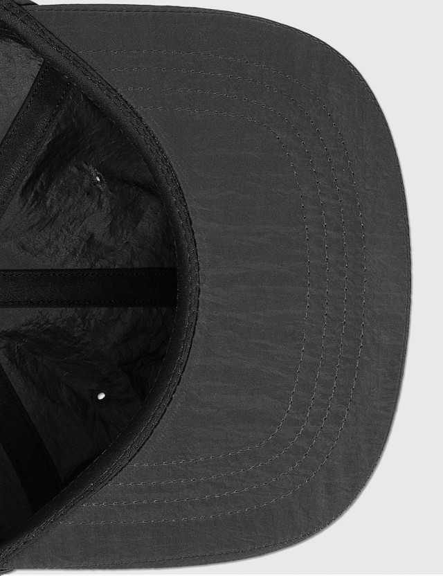 Victoria Metallic Nylon Logo Cap Black Men