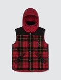 Moncler Wool Check Vest Jacket Picture