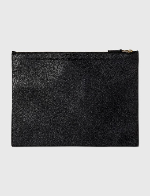 Thom Browne Thom Browne Leather Clutch Black Archives