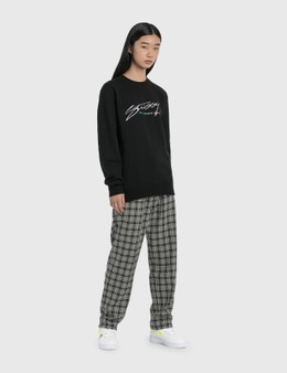 Stussy Plaid Linen Bryan Pants