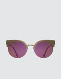Super By Retrosuperfuture Era Pink Sunglasses Picutre
