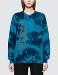 88Rising x Guess 88 Rising Tie Dye Graphic Long Sleeve T-Shirt