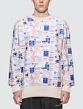 Champion Reverse Weave All Over Print Sweatshirt 사진
