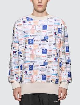 Champion Reverse Weave All Over Print Sweatshirt