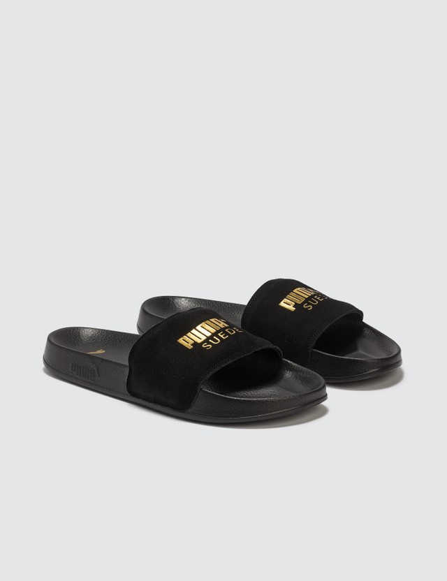 Puma Leadcad Suede Slides