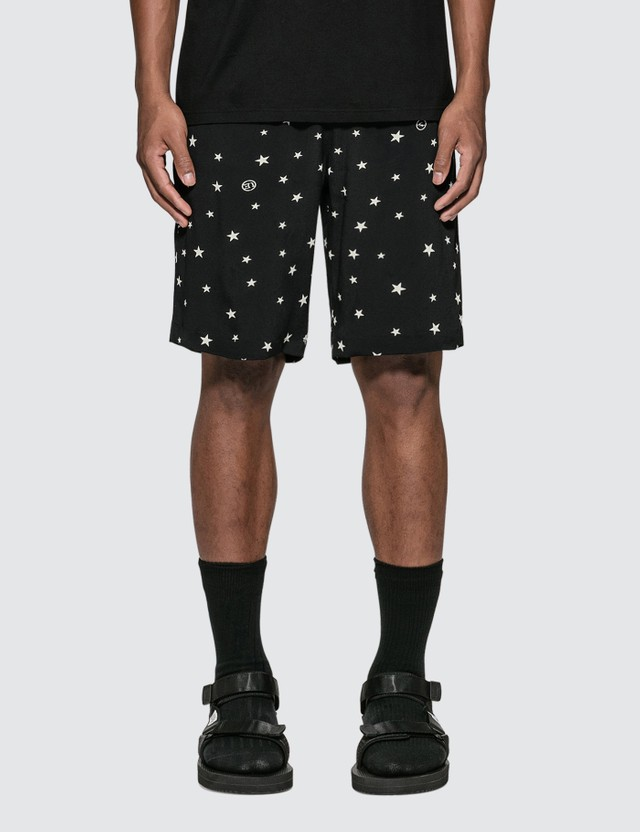 uniform experiment Pattern Allover Easy Shorts