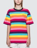 Pleasures Inbox Striped T-Shirt Picture