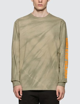 John Elliott CAT. x John Elliott Tie Dye University Long Sleeve T-shirt