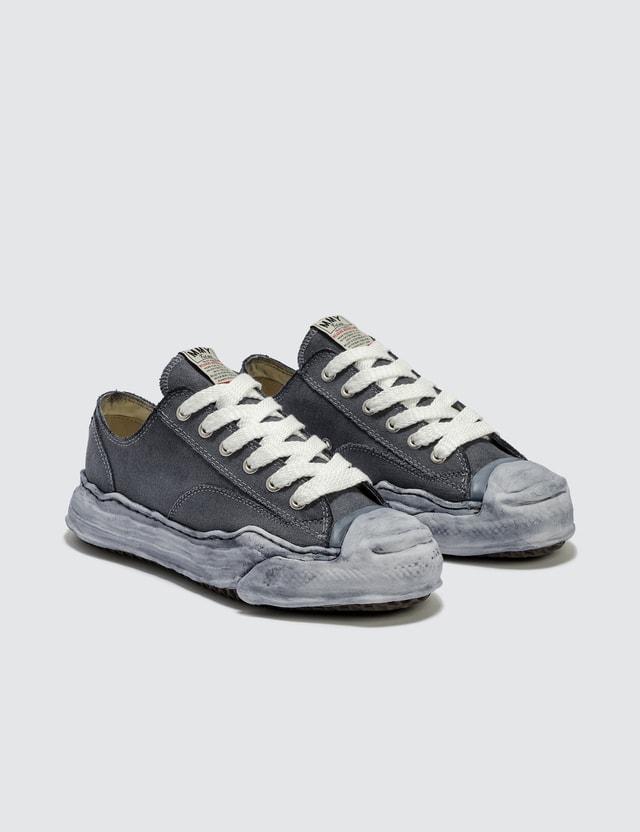 Maison Mihara Yasuhiro Original Sole Toe Cap Low Over Dyed Sneaker
