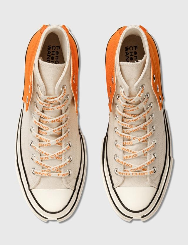 Converse Converse x Feng Chen Wang Chuck 70 Hi 2 In 1 Persimmon Orange/natural Ivory/egret Men