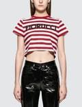 Fiorucci Fiorucci Stripe Cropped T-shirt Picture