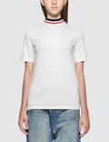 SJYP Color Neck Band Short Sleeve T-shirt Picutre