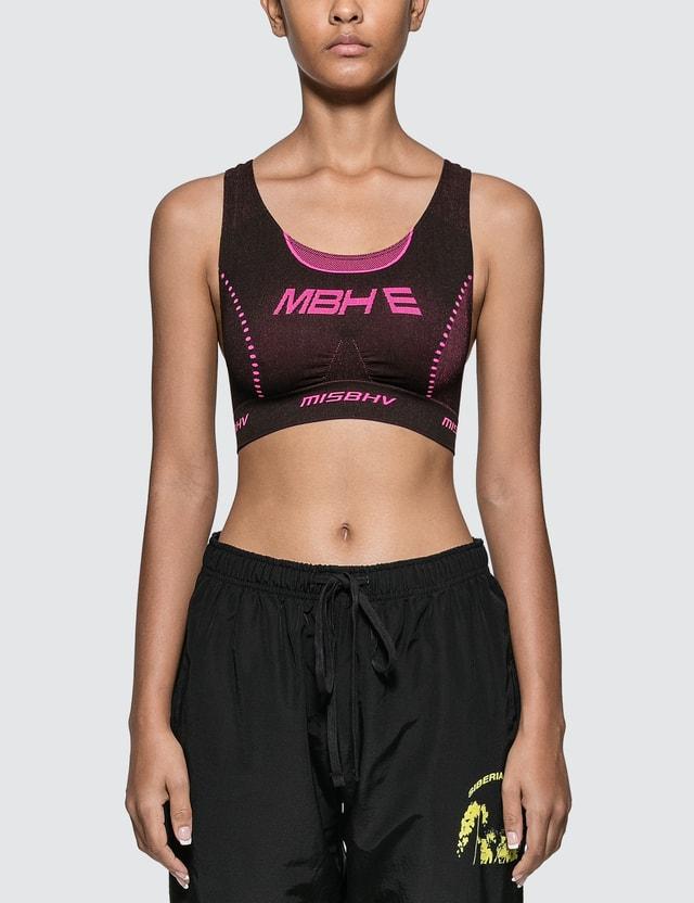 Misbhv Active Future Bra Black/pink Women