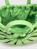 Bottega Veneta The Shell Pistachio-silver Women