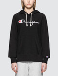 Champion Reverse Weave Classic Logo Chest Hoodie Picture