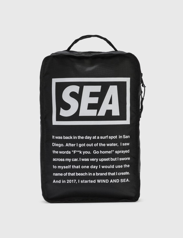 Wind And Sea Small Travel Pouch