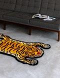 RAW EMOTIONS Tibetan Tiger Rug Yellow Men