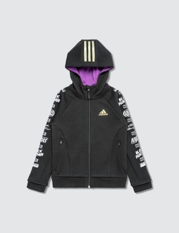 Adidas Originals Adidas Originals x Marvel Black Panther Zip Hoodie (Kids)
