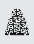 NUNUNU Numbered Zip Hoodie Picture