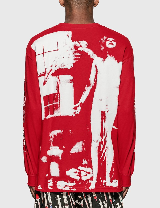 Pleasures Pleasures x Marilyn Manson Antichrist Long Sleeve T-Shirt