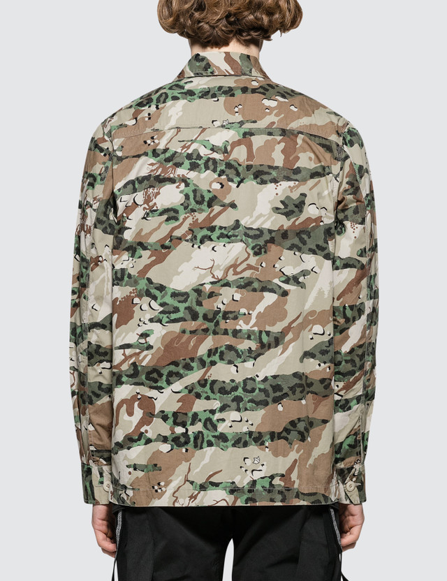 Maharishi Camo Mil Chore Jacket