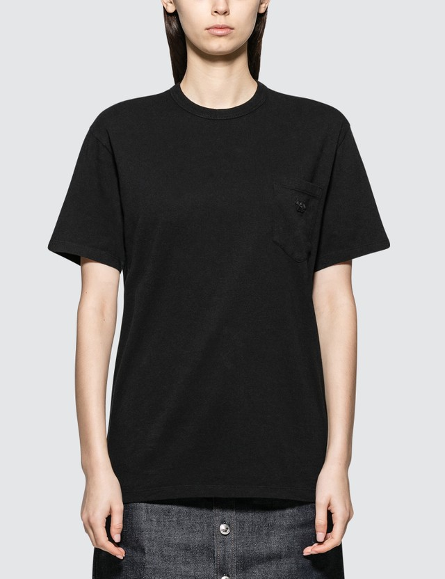 Maison Kitsune Black Fox Short Sleeve T-shirt