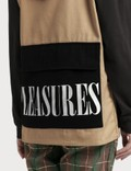 Pleasures Fade Tactical Vest Khaki Women