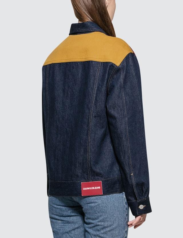 Calvin Klein Jeans Classic Trucker Blocked