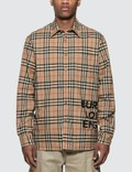 Burberry Logo Printed Vintage Shirt Picture