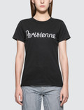 Maison Kitsune Parisienne Short Sleeve T-shirt Picture