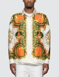Casablanca Printed Silk Shirt