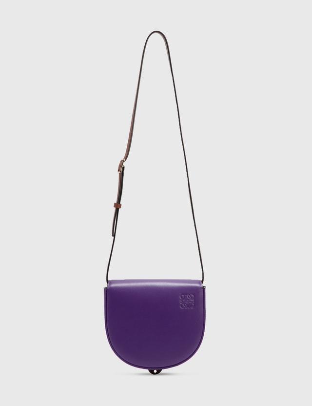 Loewe Heel Duo Bag Purple/cognac Women