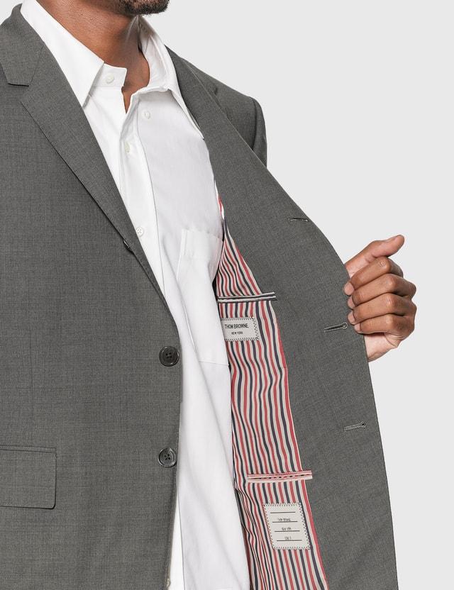 Thom Browne 4-Bar Classic Blazer Med Grey Men