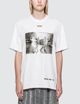 MSGM MSGM Sock Hop Short Sleeve T-Shirt Picture