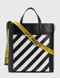 Off-White Diag Leather Tote Bag Picutre