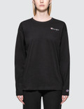 Champion Reverse Weave Small Logo Long Sleeve T-shirt Picture